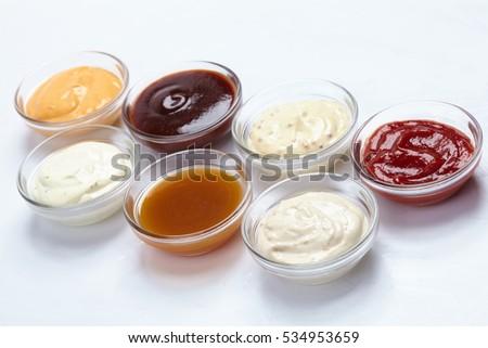 different sauces #534953659