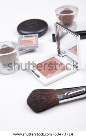 Different Types Of Cosmetics Laid Out Stock Photo 53473714 ...