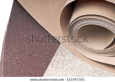 different types of sandpaper / sandpaper