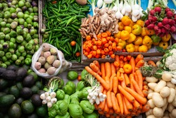different types of vegetables originating from mexico