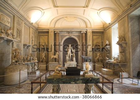 different view of vatican museums