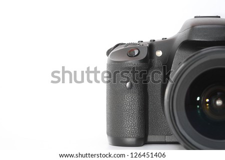 digital camera with copy space. #126451406