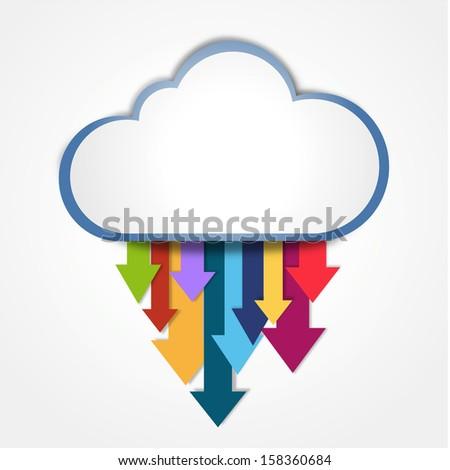 digital cloud downloading