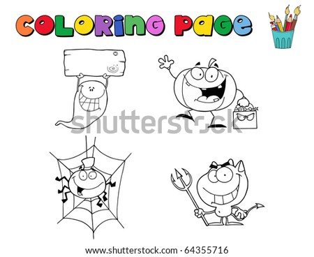 Dora Halloween Coloring Pages - GetColoringPages.com | 368x450
