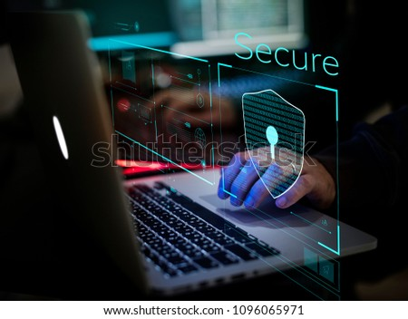 Digital crime by an anonymous hacker #1096065971