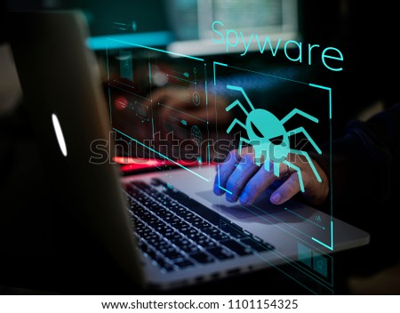 Digital crime by an anonymous hacker #1101154325