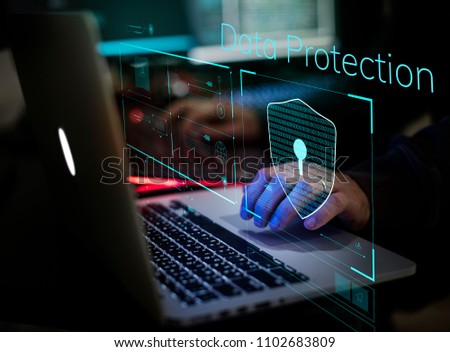 Digital crime by an anonymous hacker #1102683809