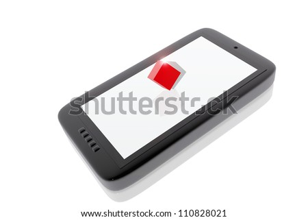 Digital Device and object in 3d
