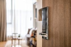 Digital door lock security system