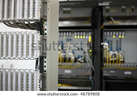 digital equipment of communication for data transmission. Multiplexers of last generation the modern equipment