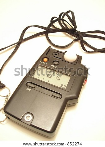 Digital exposure/flash meter