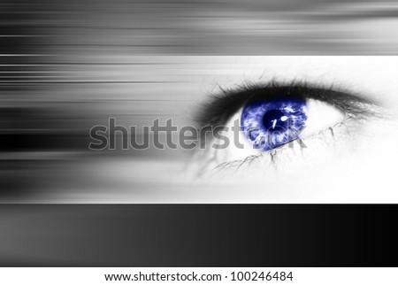 Digital eye in a future vision