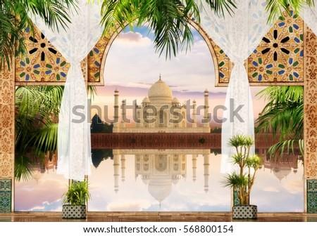 Digital fresco.   India