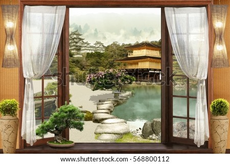 Digital fresco. Japan