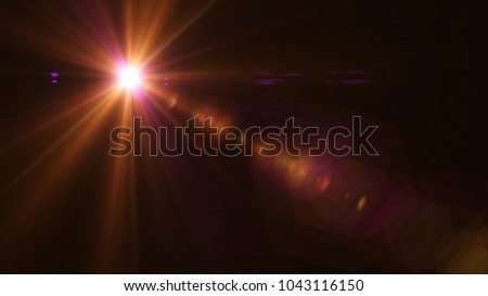 Digital Galaxy lens Flare , light leaks , Abstract overlays background. - Shutterstock ID 1043116150