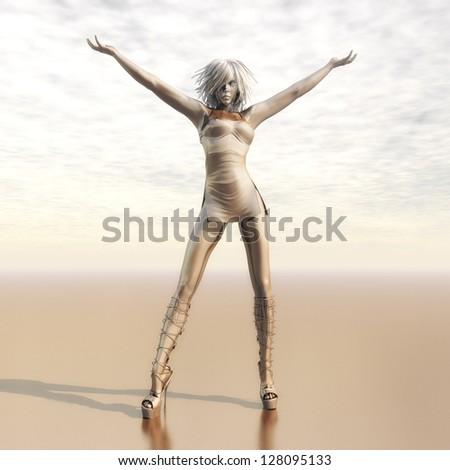 Digital Girl Visualization