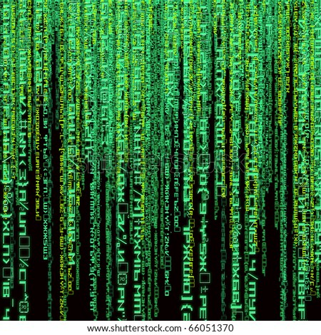 digital green abstract background