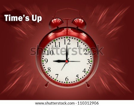 Digital Iillustration of an old alarm clock / Old Alarm Clock