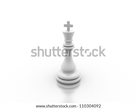 Digital illustration of chess board in 3d on digital background
