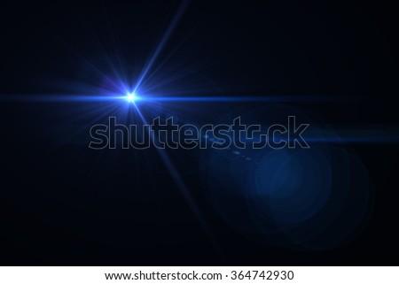 digital lens flare #364742930