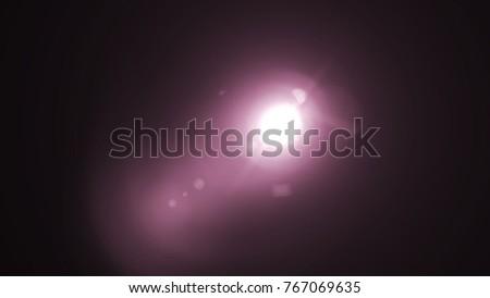 Digital lens Flare , light leaks , Abstract overlays background. #767069635