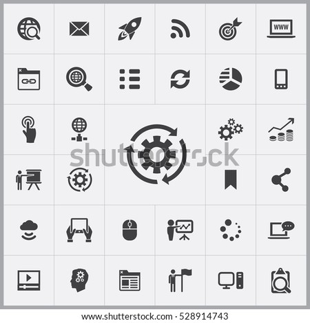 digital marketing icons universal set for web and mobile #528914743