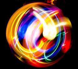 Digital Motion Fractal Artwork
