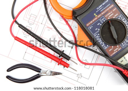 Digital multimeter and electronic circuitry