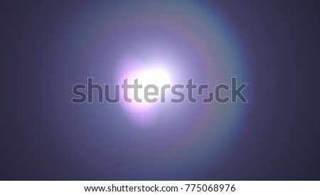 Digital Natural lens flare , Abstract overlays background. #775068976