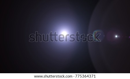 Digital Natural lens flare , Abstract overlays background. #775364371