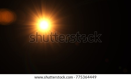 Digital Natural lens flare , Abstract overlays background. #775364449