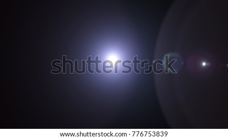 Digital Natural lens flare , Abstract overlays background. #776753839
