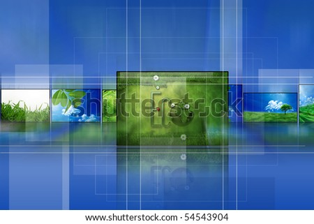 """Digital photo gallery - Collection"""" Ecology"""""""