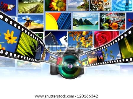 Digital Photography Concept