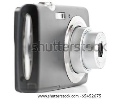 Digital point-and-shoot camera