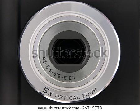 Digital Point & Shoot Camera Lens 5X Optical Zoom