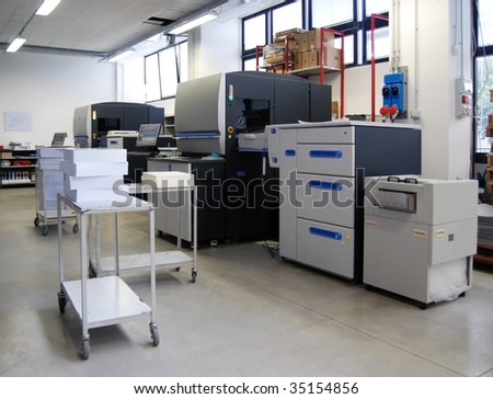 Digital press printing is the reproduction of digital images on a physical surface. It is generally used for short print runs, and for the customization of print media.