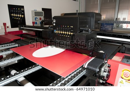 Digital printing - wide format