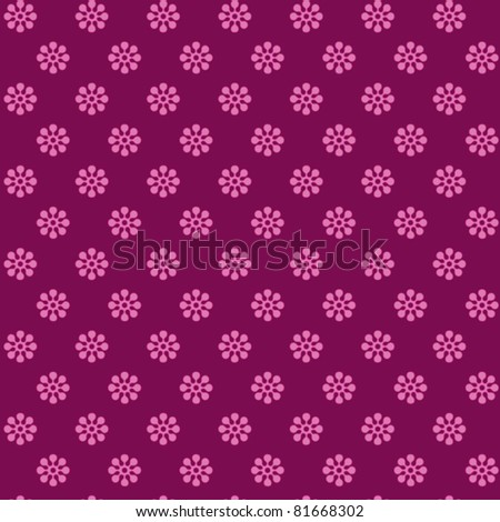 Scrapbooking Pink Flowers Background Pink Flowers