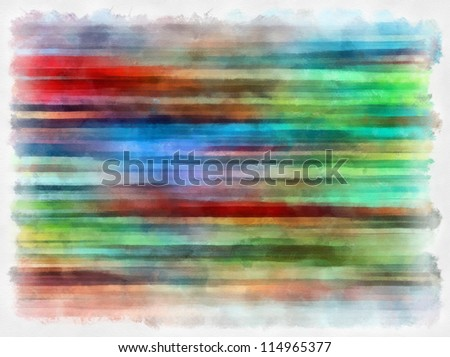 Digital structure of painting.striped colored background in grunge style