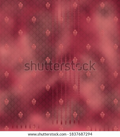 digital suit with texture buti pattern and background  Zdjęcia stock ©