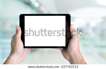 Digital Tablet. - Shutterstock ID 337763513