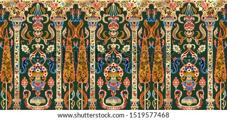 digital textile design ornaments motif