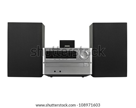 digital usb ,Tuner, cd player- clipping path
