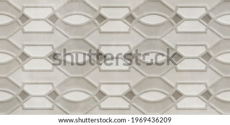Digital Wall Tile Decor For Home, Ceramic Tile Design, Seamless colourful patchwork in Indian style, wallpaper, textile, web page background - 3D Illustration ストックフォト ©