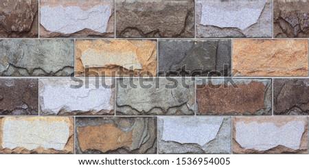 digital wall tiles design for elevation, elevation natural stone. #1536954005