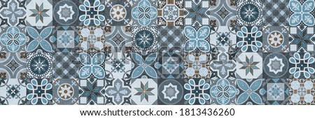 Digital wall tiles design,Print in Ceramic Industries Beautiful set of tiles in portuguese, spanish, italian style in wall decor design, Ceramics, tiles, mosaic, abstract Motif wall art,