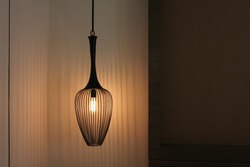 dim light lamp shadow background