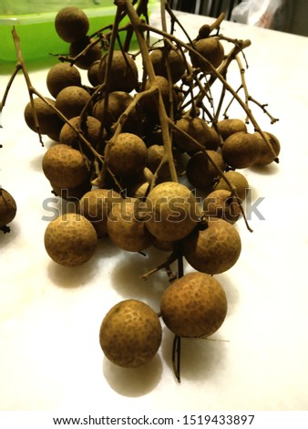 Dimocarpus longan, commonly known as the longan, is a tropical tree species that produces edible fruit. #1519433897