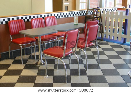 Diner, a diner in England trying to look 1950's American